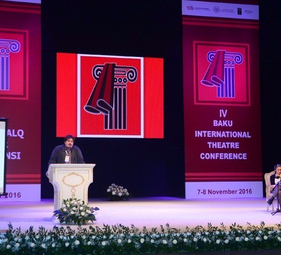 Translation for IV Baku International Theatre Conference